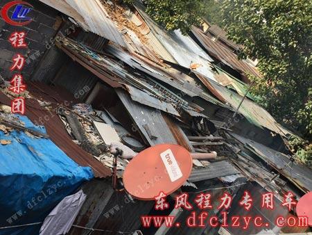 曼谷贫民区住房现状