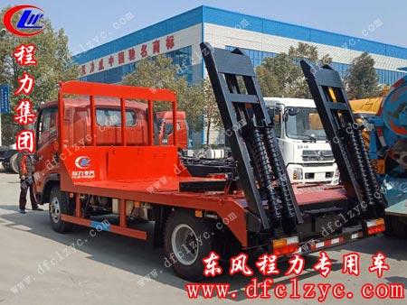 3月10日客户已将大运平板运输车自提走