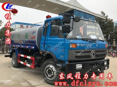 程力专用汽车股份有限公司的东风145洒水车准备出厂