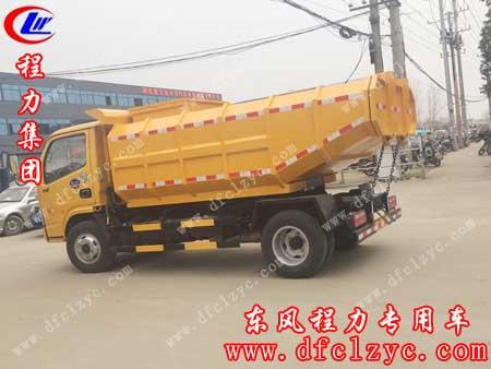 上述图片为湖北程力东风小多利卡自卸式垃圾车完工图片