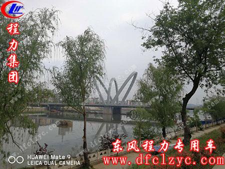 随州㵐水一桥魔力展现,程力专汽的绿色通道