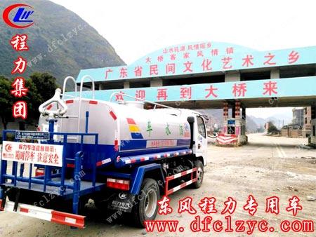 程力专用汽车股份有限公司东风小多利卡途经大桥客家风情镇