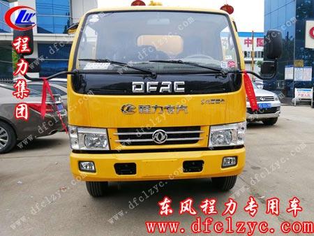 程力专用汽车股份有限公司的东风小多利卡清洗吸污车准备出厂