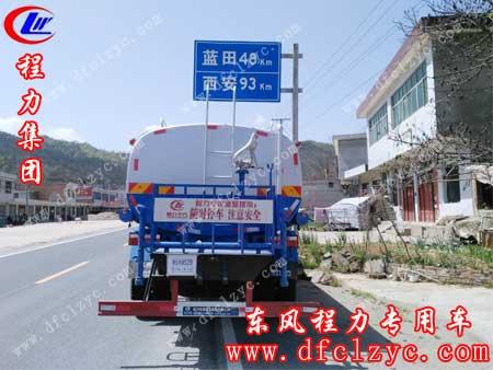 湖北程力东风D9多功能洒水车已进入高速公路