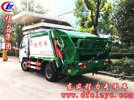 湖北程力凯马压缩垃圾车整装待备准备出厂