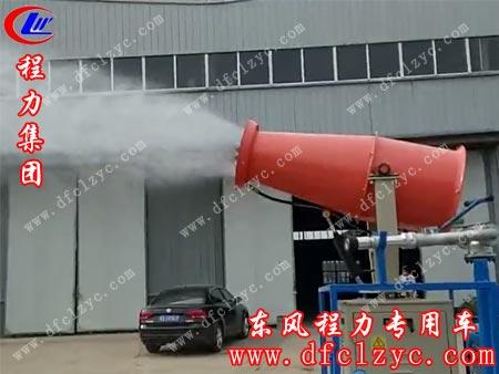 东风小多利卡25米喷雾车效果