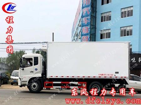 湖北程力专用汽车有限公司东风天锦冷藏车