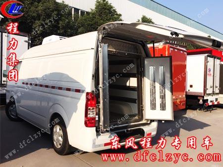 福田G7面包冷藏车生产进度图