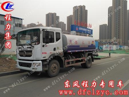 山东青州刘先生在程力集团订购一辆东风D9洒水车。单号:10032