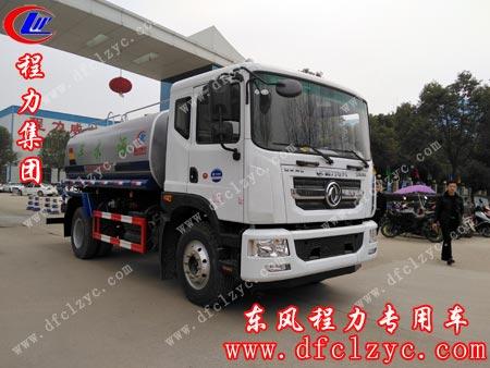 湖南岳阳陈总在程力集团订购一辆东风D9洒水车。单号:24182/57702