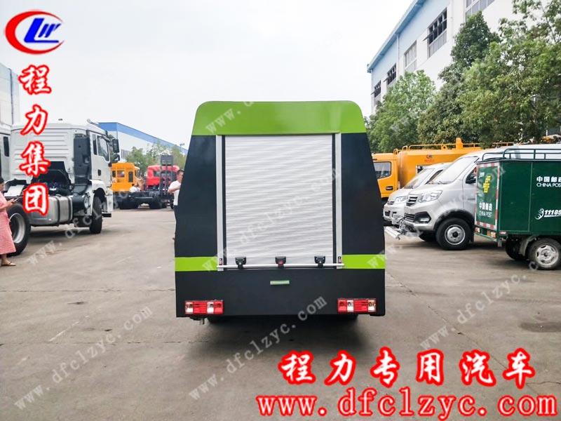 程力集团生产的国六长安清洗车