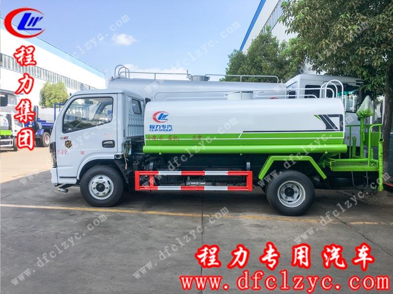 程力专用汽车股份有限公司生产的国六东风小多利卡洒水车