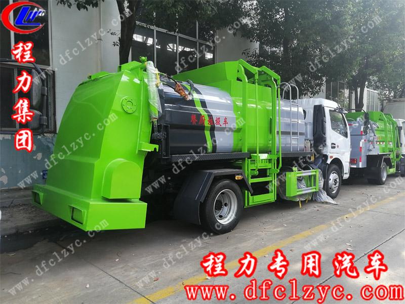 程力集团国六东风大多利卡餐厨垃圾车