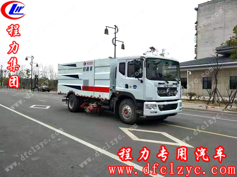 湖北程力东风多利卡D9扫路车