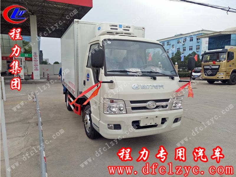 湖北程力集团生产的福田驭菱VQ2冷藏车