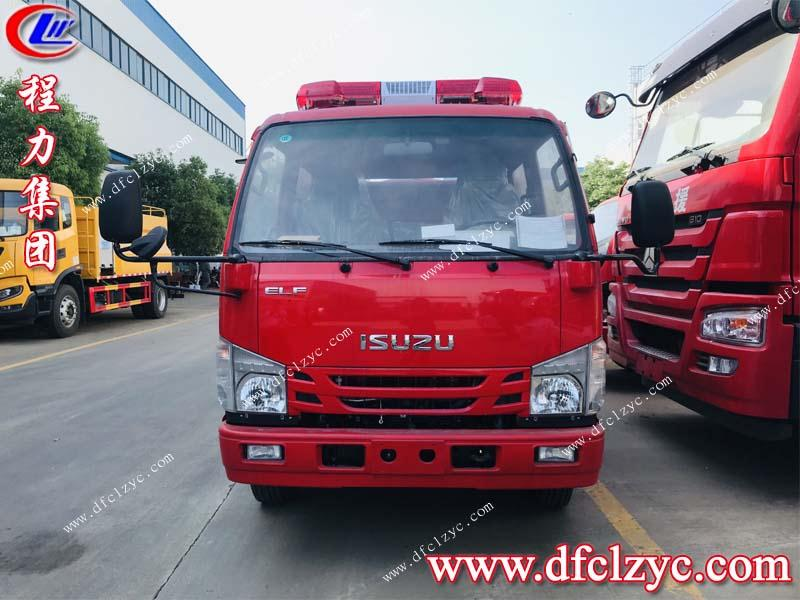 慶鈴五十鈴2噸水罐消防車(國六)