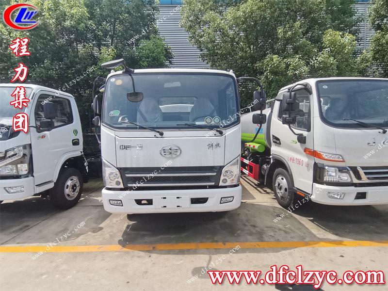 (國六)解放7.5方綠化灑水車