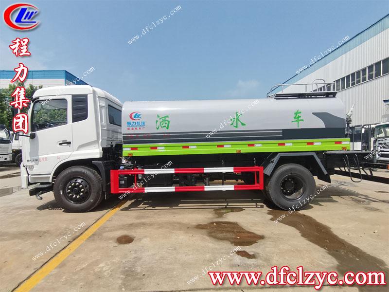 (國六)東風專底11方綠化灑水車