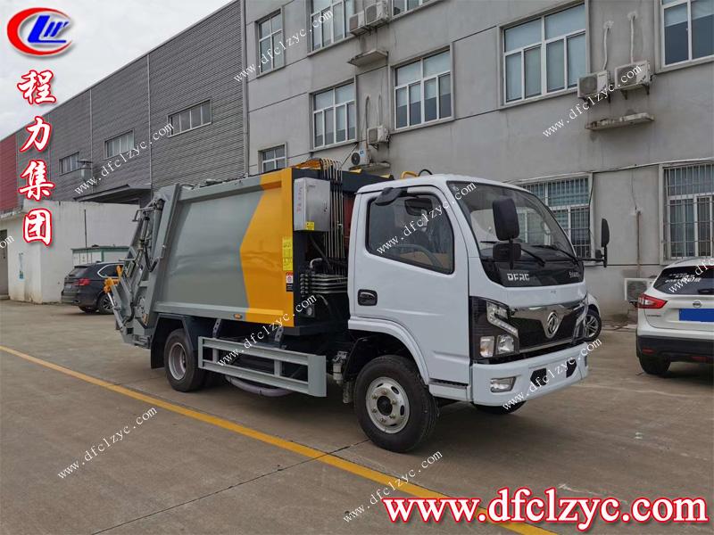 (國六)東風小多利卡6方壓縮垃(la)圾車