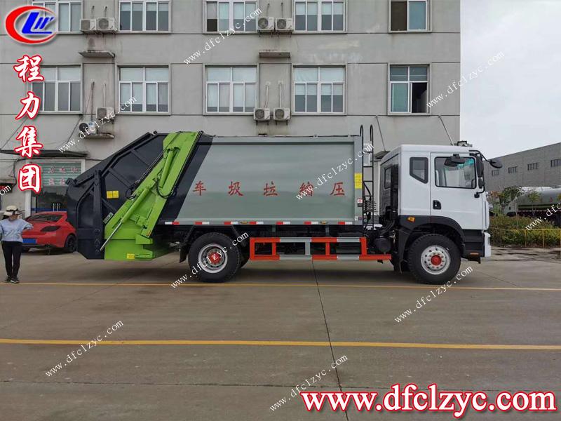 (國六)東風D9型(xing)壓縮式對接垃(la)圾車11方